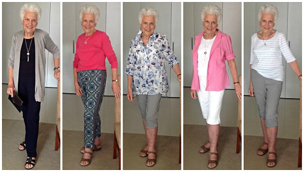 Ruth style transformation spring summer outfits