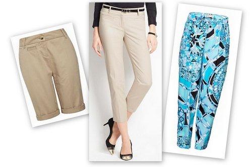 stylish summer pear pants