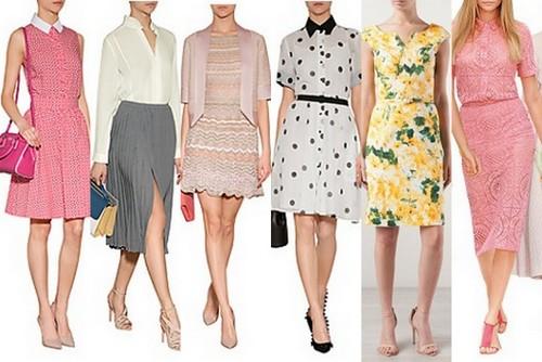 spring summer fashion trend 2014 feminine