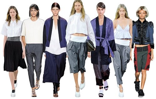 spring summer fashion trend 2014 large silhouettes