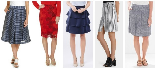 strong spring summer fashion trend skirts 2016