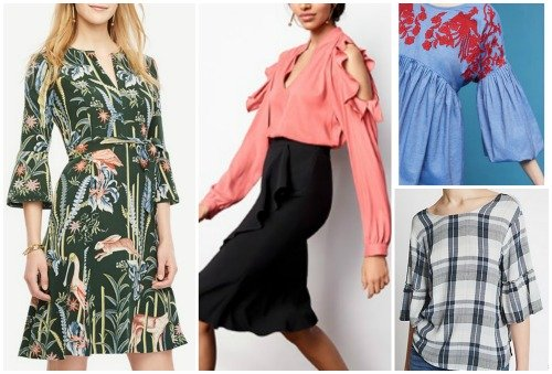spring summer fashion trends 2017 statement sleeves