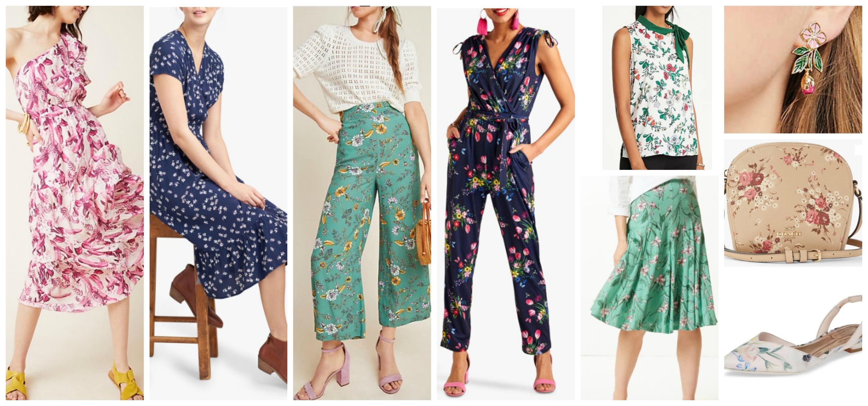 spring summer fashion trends 2019 florals