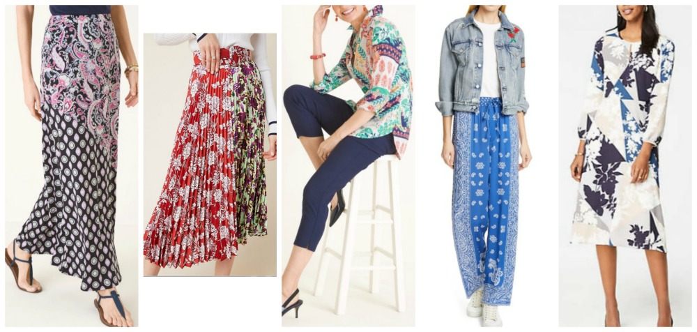 spring summer fashion trends 2019 mixed prints