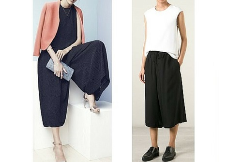 spring summer fashion trends culottes