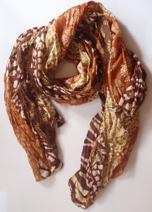 tying scarves looped