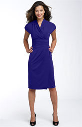 what to wear to evening wedding - wrap dress