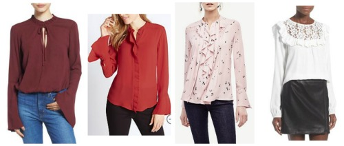 fall winter fashion trend 2016 blouses
