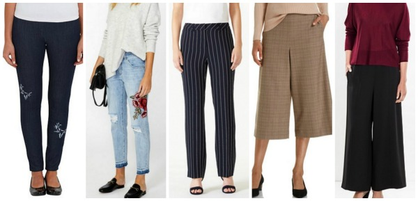 Autumn Winter Fashion Trends Pants