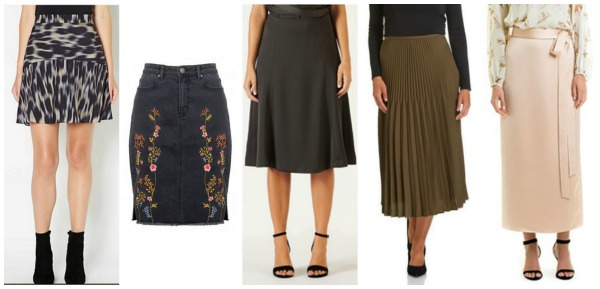 Autumn Winter Fashion Trends Skirts