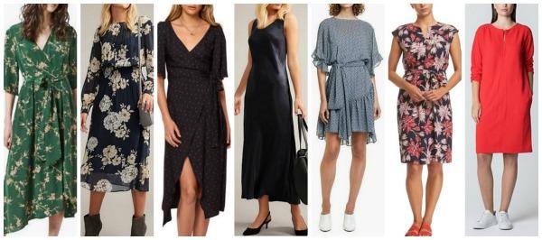 autumn winter fashion trends 2018 Australia & NZ dresses
