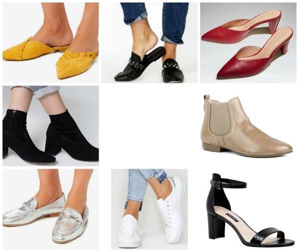 autumn winter fashion trends 2018 Australia & NZ shoes
