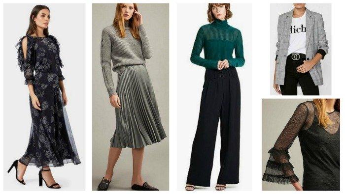 autumn winter fashion trends 2018 Australia & NZ