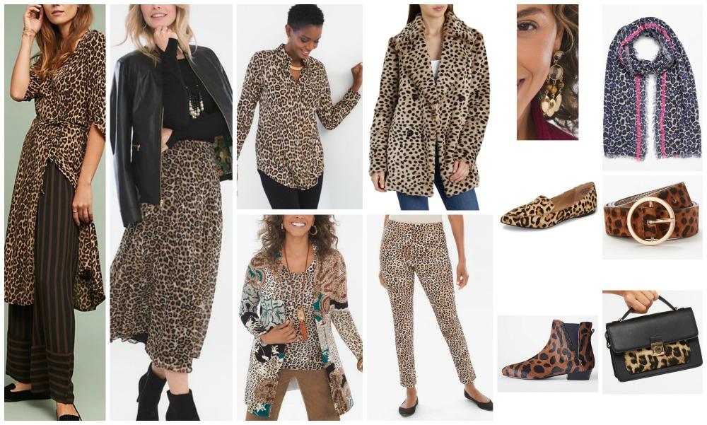 fall winter fashion trends 2018-19 leopard print