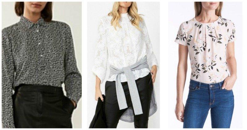 autumn winter fashion trends in tops 2019 Australia & NZ