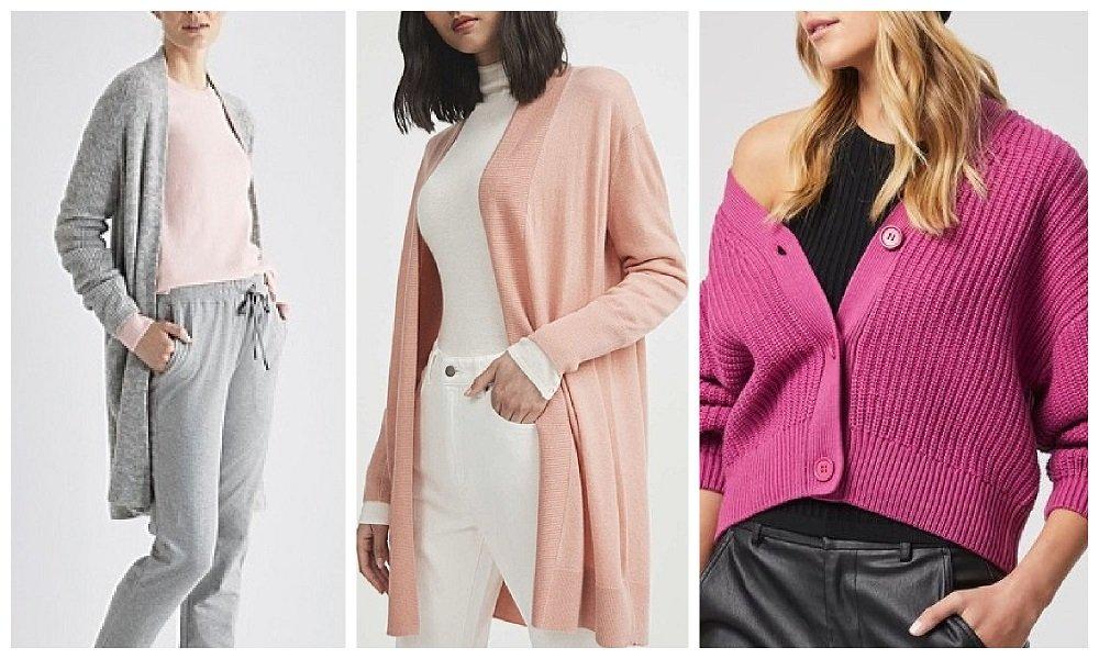 autumn winter 2021 fashion trends australia cardigans