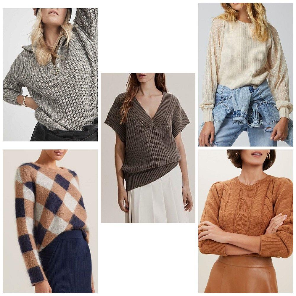 autumn winter 2021 fashion trends australia knits