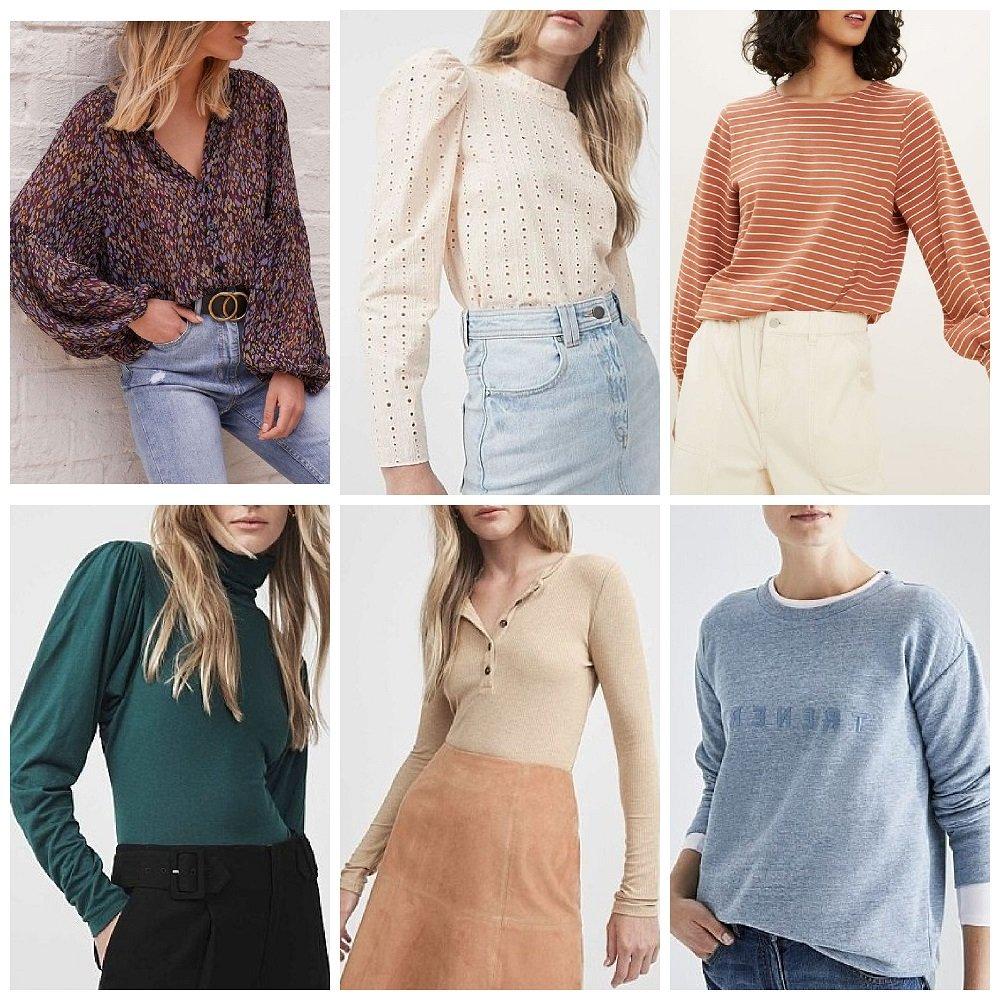 autumn winter 2021 fashion trends australia tops