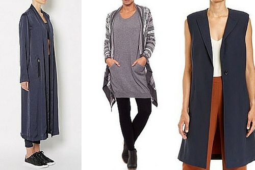 autumn winter fashion trends cardigans & vests