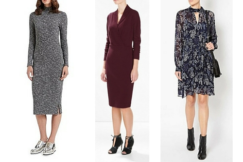 autumn winter fashion trends dresses
