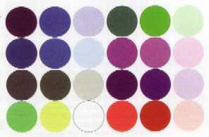 تجزیه و تحلیل رنگ های هر فصل
