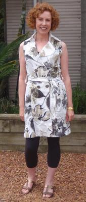 Leggings under dresses can look great